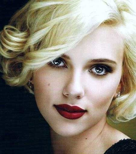 Classy-Cute-Vintage-Curls Vintage Hairstyles Short Hair