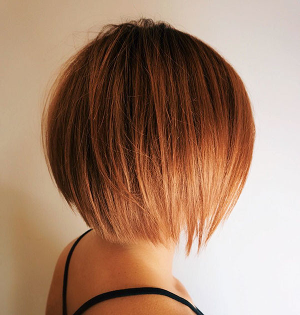 Copper-Red-Bob-Hair Popular Bob Hairstyles 2019