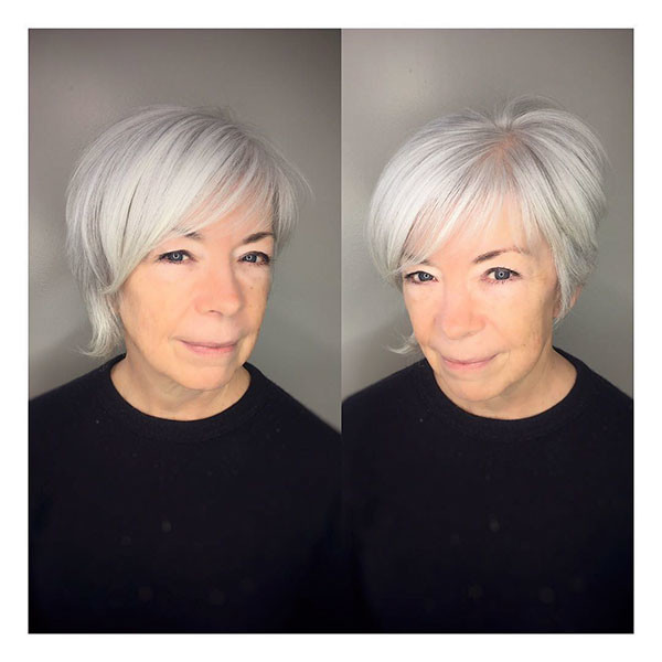 Cute-Haircut-for-Older-Women Best Short Hairstyles for Older Women in 2019