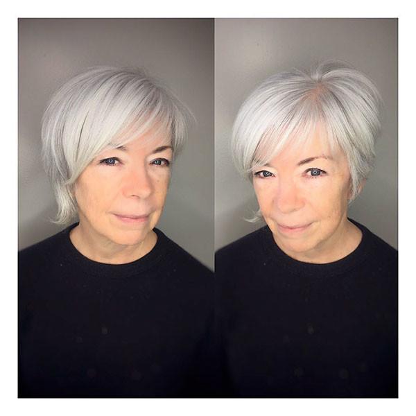 Cute-Haircut-for-Older-Women Best Short Hairstyles for Older Women in 2019