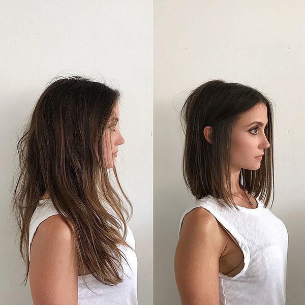 Cute-Long-Bob-1 Popular Short Hairstyles for Fine Hair