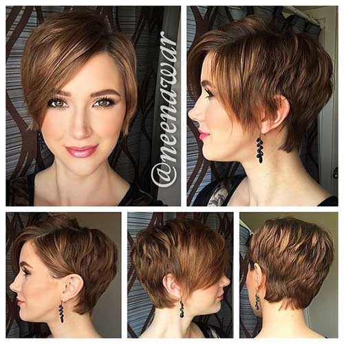 Cute-Short-Hairstyle-for-Wavy-Hair Cute Short Hairstyles and Cuts You Have to See