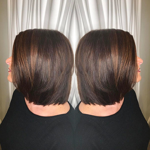Dark-Brown-Bob-1 New Best Short Haircuts for Women