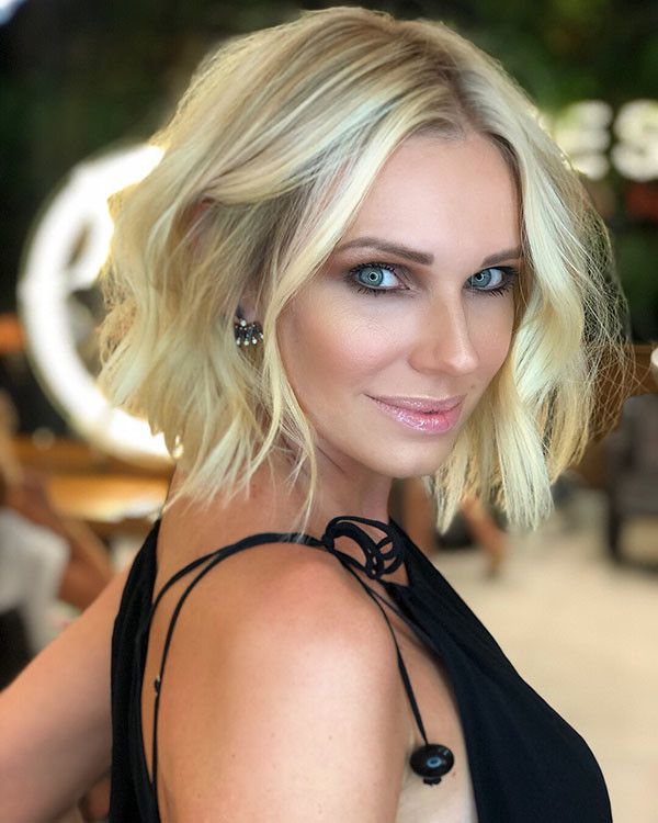 Easy-Bob-Style Wedding Hairstyles for Short Hair 2019