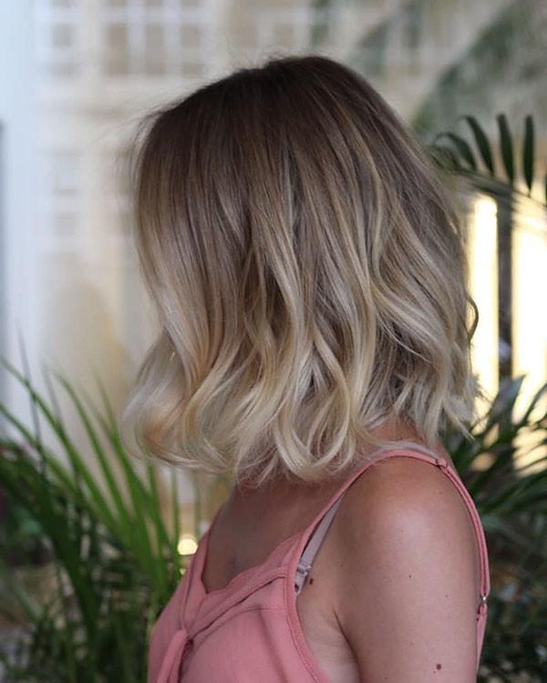 Fine-Lob Popular Short Hairstyles for Fine Hair