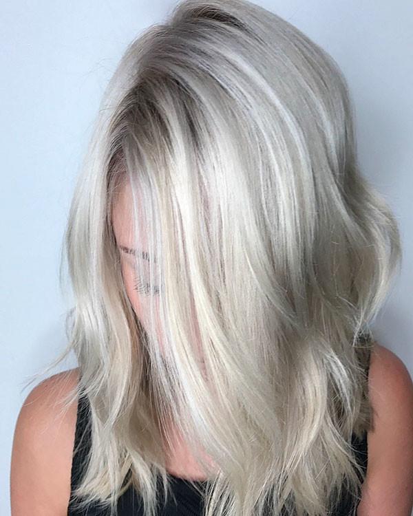 Fine-Longer-Bob Popular Short Hairstyles for Fine Hair