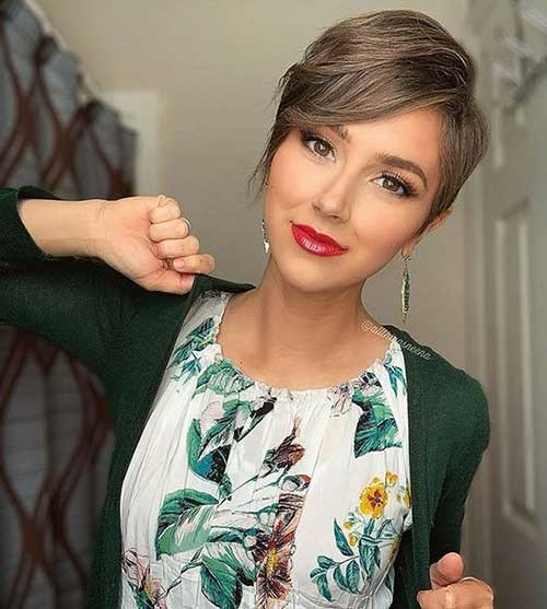 Fine-Pixie-Cut Best Short Fine Hairstyles Women 2019