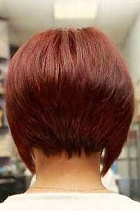 Graduated-Bob-Hair Short Bob Haircuts for Women