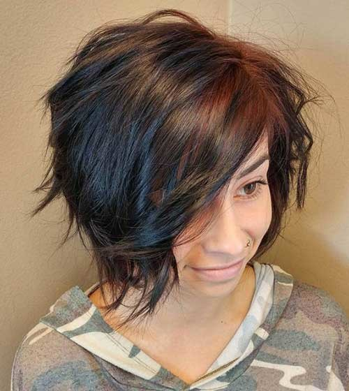 Graduation-Layered-Bob-Style Amazing Graduated Bob Haircuts for Modern Ladies
