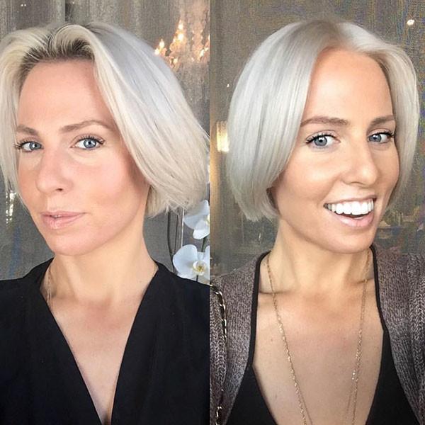 Haircut-for-Older-Women Popular Short Hairstyles for Fine Hair