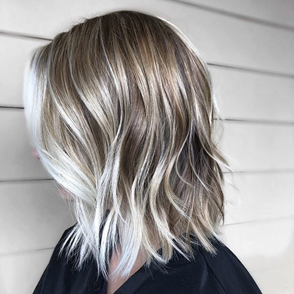 Highlighted-Blonde-Hair New Short Blonde Hairstyles