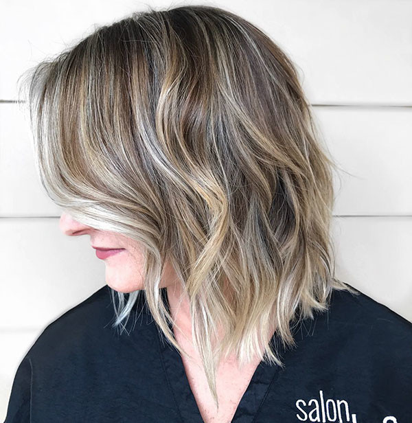 Highlighted-Bob New Best Short Haircuts for Women
