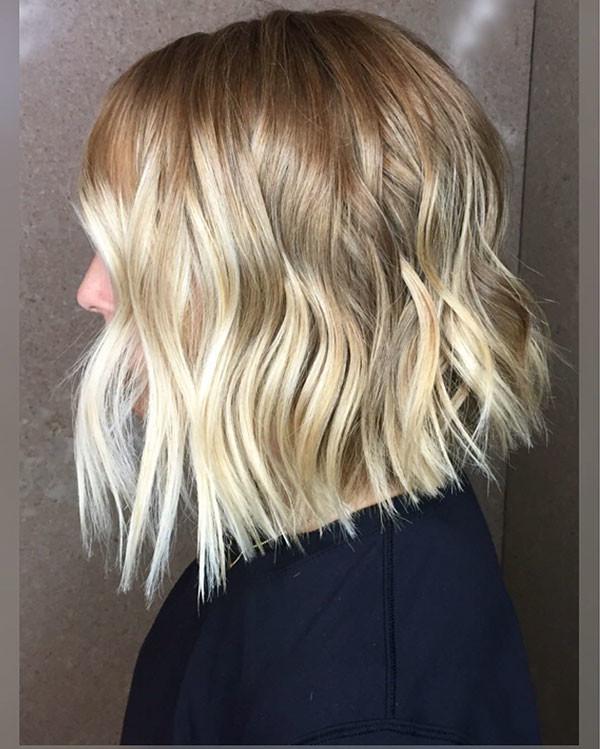 Inverted-Blunt-Bob Best Short Wavy Hair Ideas in 2019