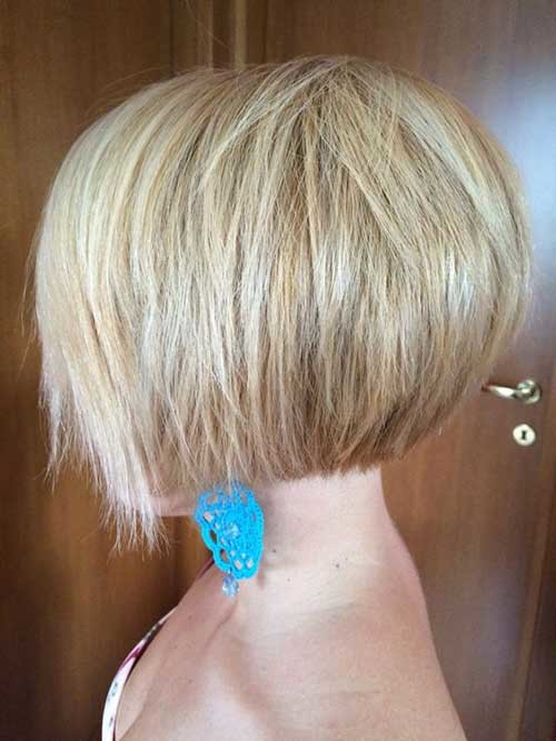 Inverted-Hair Brilliant Short Straight Hairstyles