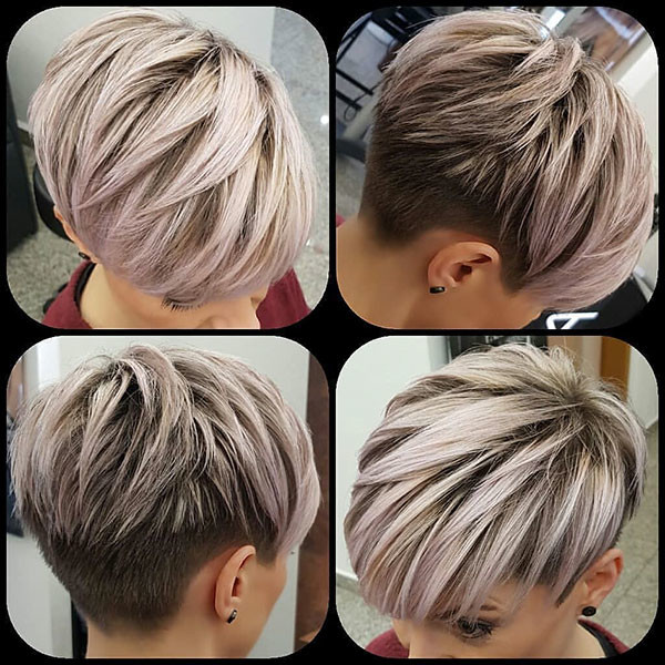 Layered-Pixie-Cut New Pixie Haircut Ideas in 2019