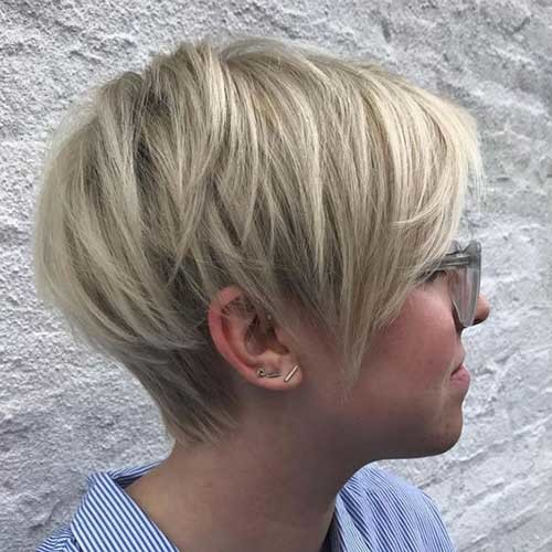 Layered-Short-Haircut-for-Every-Face-Shape New Short Haircut Trends Women 2019