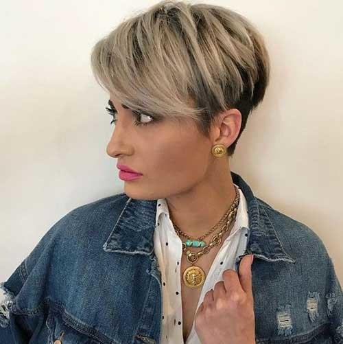 Long-Bangs New Short Haircut Trends Women 2019