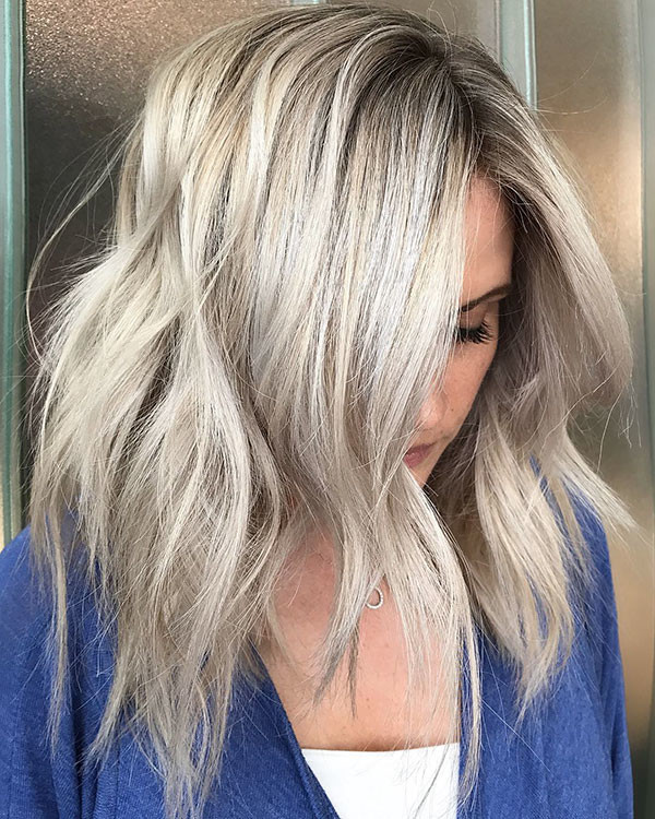 Long-Bob-Wavy-Hair New Best Short Haircuts for Women