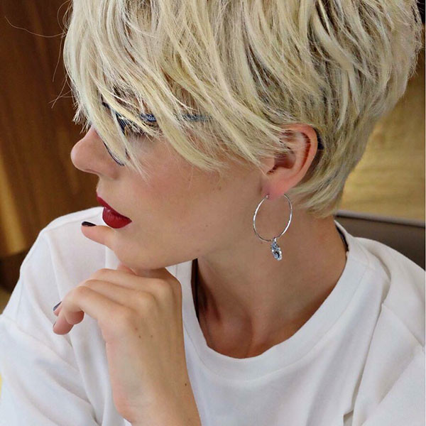 Long-Pixie-Hair New Short Blonde Hairstyles