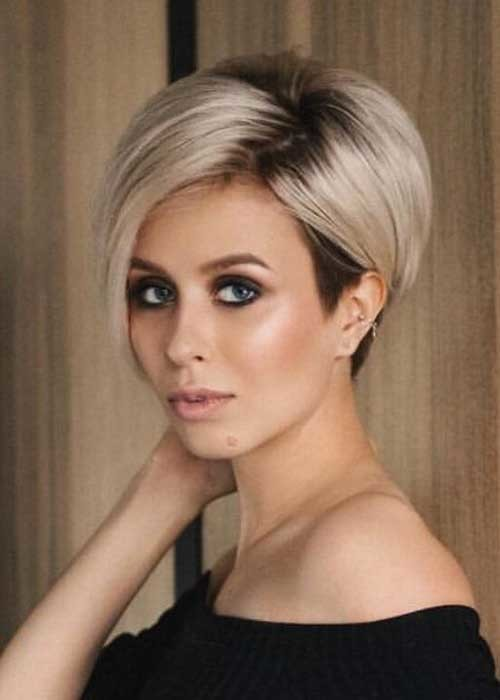 Longer-Pixie-Haircut Best Short Fine Hairstyles Women 2019