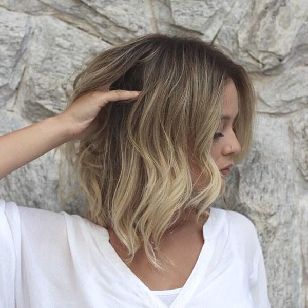 Medium-Bob-Hair-Color New Short Blonde Hairstyles