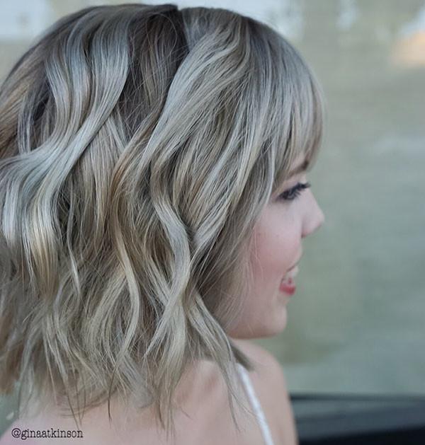 Medium-Wavy-Bob-1 Best Short Wavy Hair Ideas in 2019