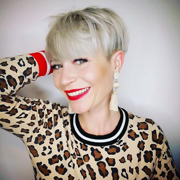 Modern-Pixie-Hair Best Short Hairstyles for Older Women in 2019