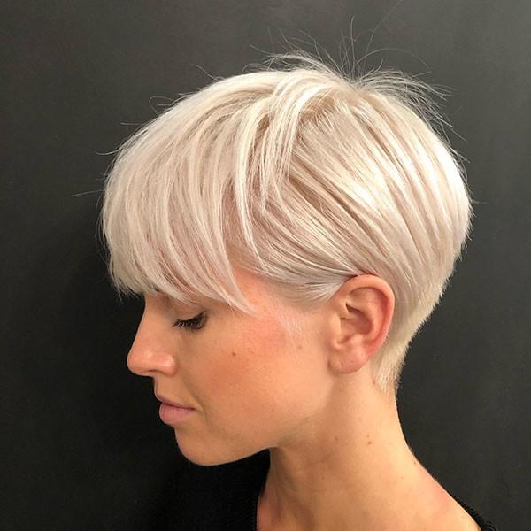 Modern-Pixie New Short Blonde Hairstyles