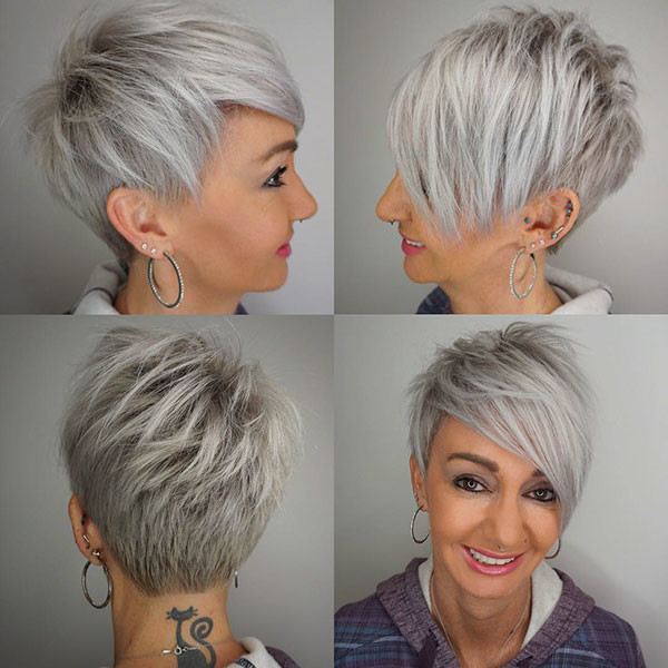 Pixie-Cut-for-Older-Women Best Short Hairstyles for Older Women in 2019