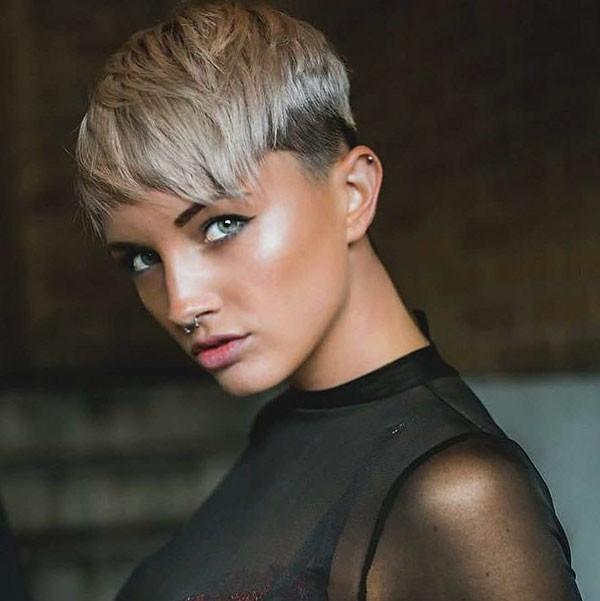 Pixie-Hair New Short Blonde Hairstyles
