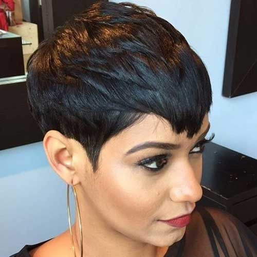 Pixie-Haircut-for-Black-Hair Attractive Pixie Haircuts for Beautiful Women