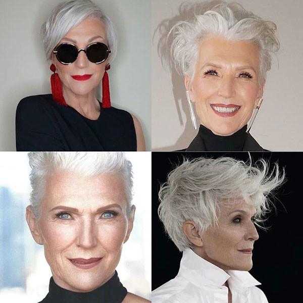 Pixie-Haircut-for-Older-Women Best Short Hairstyles for Older Women in 2019