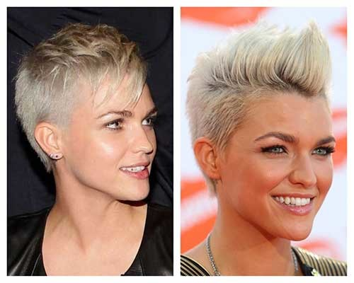 Ruby-Rose Attractive Pixie Haircuts for Beautiful Women
