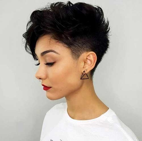 Shaved-Side-Haircut-for-Short-Hair New Short Haircut Trends Women 2019