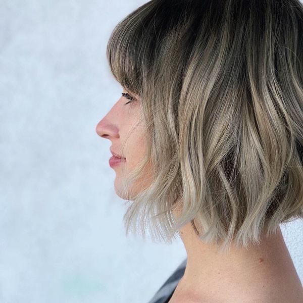 Short-Bangs New Cute Short Hairstyles