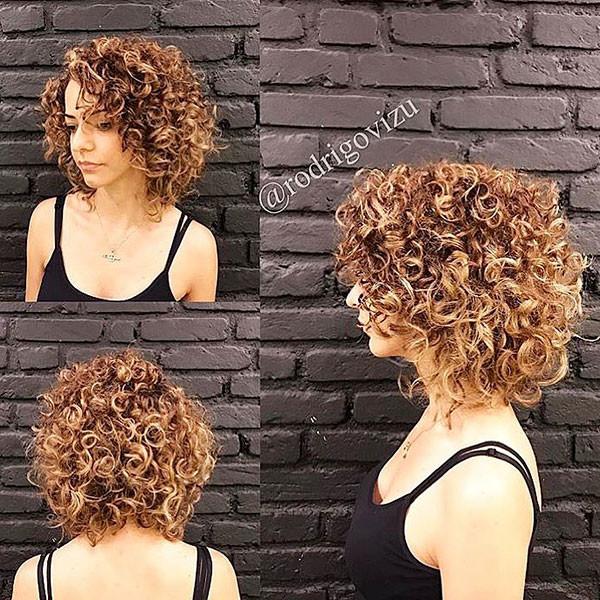 Short-Blonde-Hair-for-Curly-Hair Best Short Curly Hair Ideas in 2019