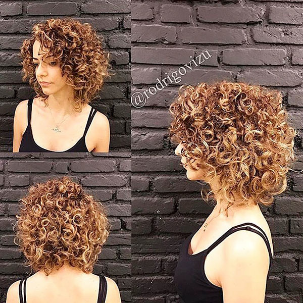 Short-Blonde-Hair-for-Curly-Hair Best Short Curly Hair Ideas in 2019