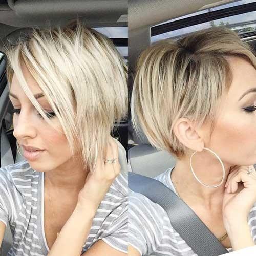 Short-Bob-1 Best Short Fine Hairstyles Women 2019