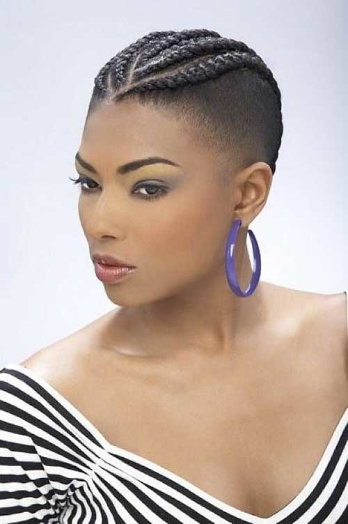Short-Braided-Hairstyles-for-Black-Women-with-Thin-Hair Braids for Black Women with Short Hair