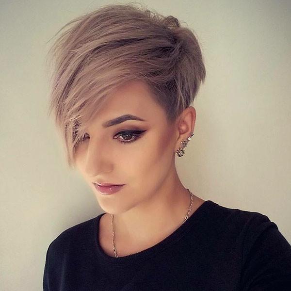 Short-Hair-Style-2019 Beautiful Short Hair for Girls