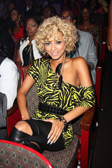 Short-Hair-with-Bangs Keri Hilson Short Hairstyles