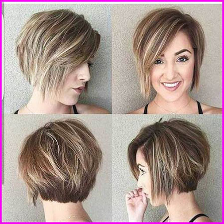 Short-Haircut-for-Women-with-Round-Faces Short Haircuts for Women with Round Faces