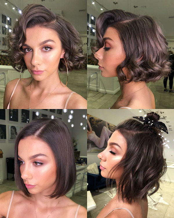 Short-Hairstyle-Ideas-for-Girls New Cute Short Hairstyles