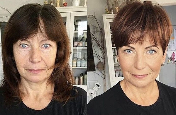 Short-Hairstyle Best Short Hairstyles for Older Women in 2019