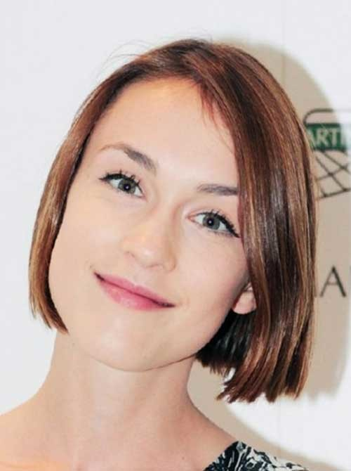 Short-Straight-Haircut-for-Fine-Thin-Hairstyle Short Straight Hairstyles for Fine Hair