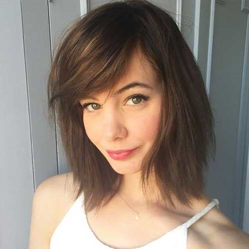 Side-Bangs-1 Cute Short Hairstyles and Cuts You Have to See