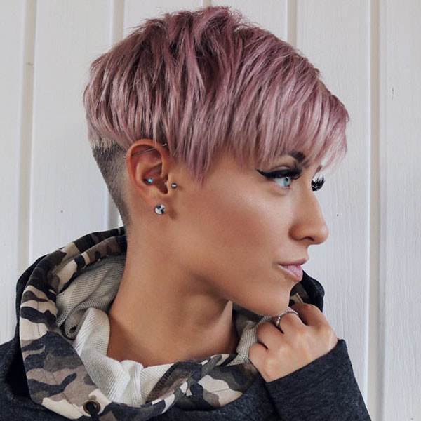 Simple-Pixie Beautiful Short Hair for Girls