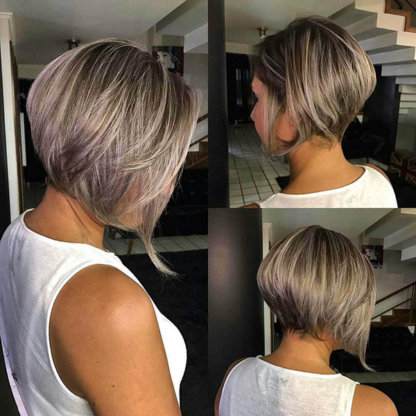 Thick-Short-Bob-Hair-Cut Popular Bob Hairstyles 2019