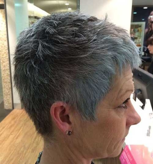 Very-Short-Cute-Pixie Chic Short Haircuts for Women Over 50