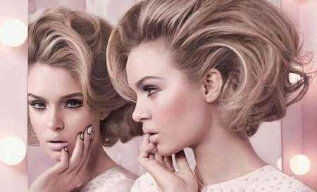Voluminous-Incredible-Vintage-Hair Vintage Hairstyles Short Hair